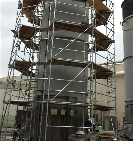 Industrial Scaffold Rentals Florida