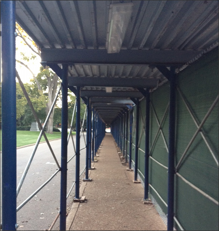 Pedestrian Canopy Rental Systems Florida