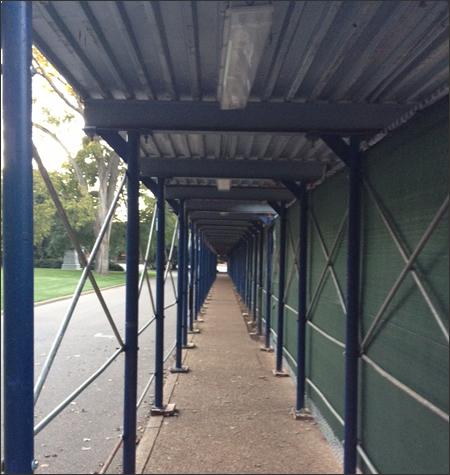Sidewalk Canopy Rental Systems Florida Pedestrian Canopy