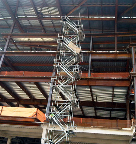 Florida Stair Tower Scaffolding Rentals