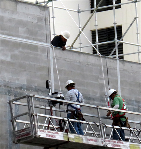 Naples Suspended Scaffolding Rentals