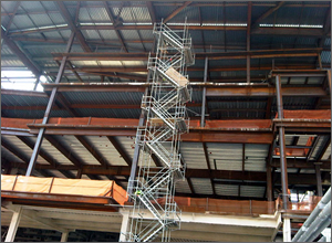 Stair Tower Scaffolding Systems Florida